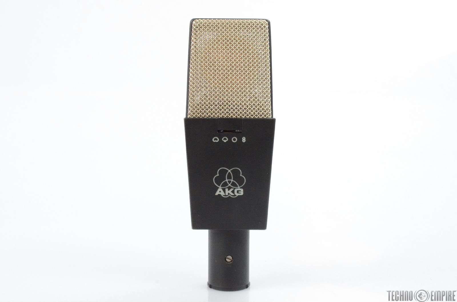 vintage akg c414 b uls large diaphragm multi pattern condenser microphone 26039 ebay. Black Bedroom Furniture Sets. Home Design Ideas