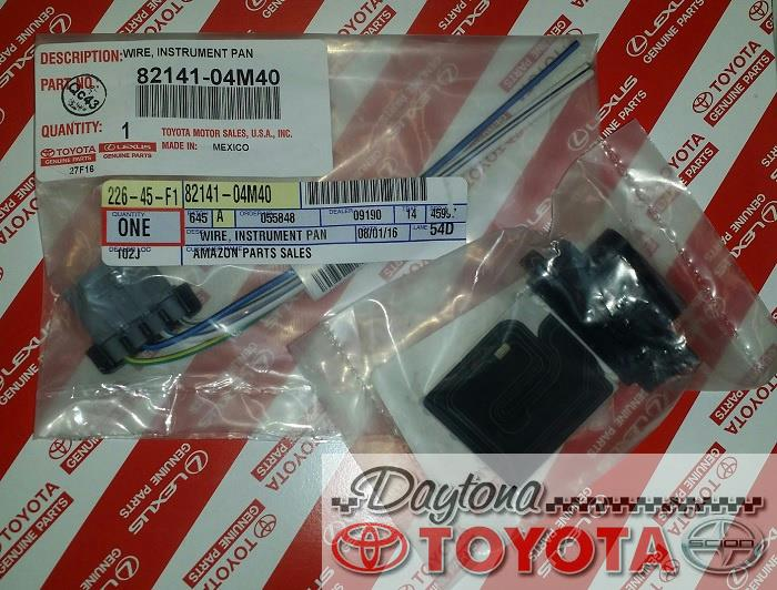 28086161  Wire Electrical Harness Connectors on cd player, honda pioneer, fuel pump,