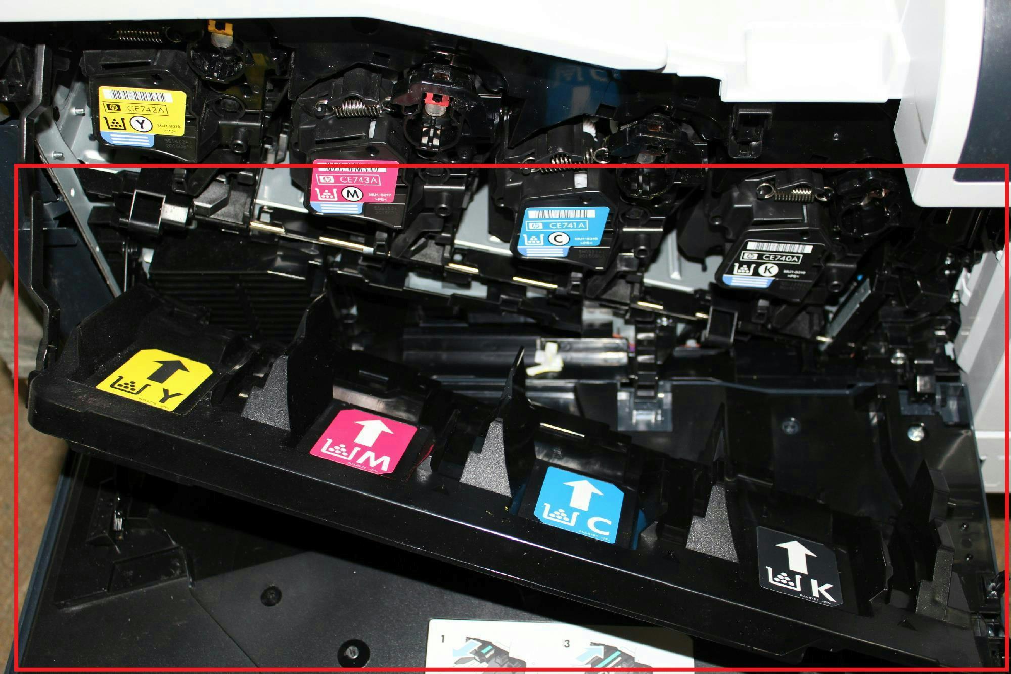 Hp color laserjet professional cp5225n printer a3 ce711a office - Hp Color Laserjet Cp5225 Printer Ce712a Bgj 120v For Parts 800143489