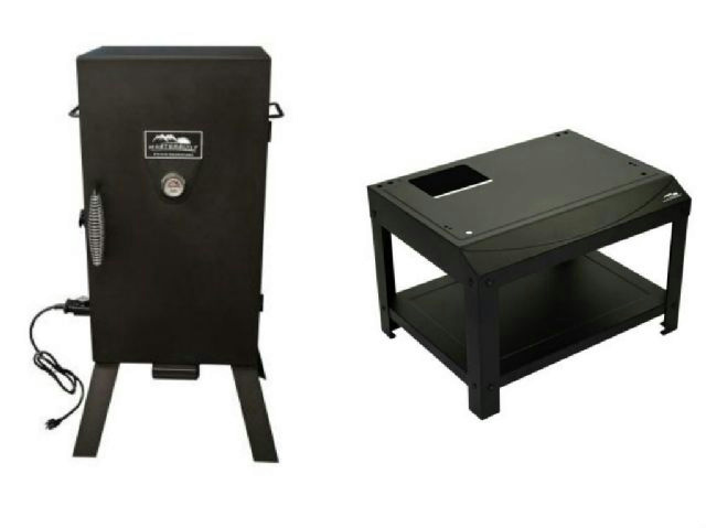 how to build a stand for electric smoker