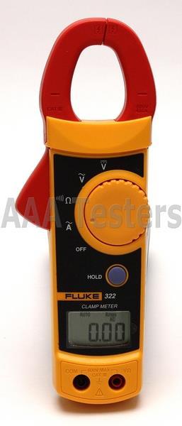 Fluke 322 Clamp Meter : Fluke true rms hvac multimeter clamp meter kit