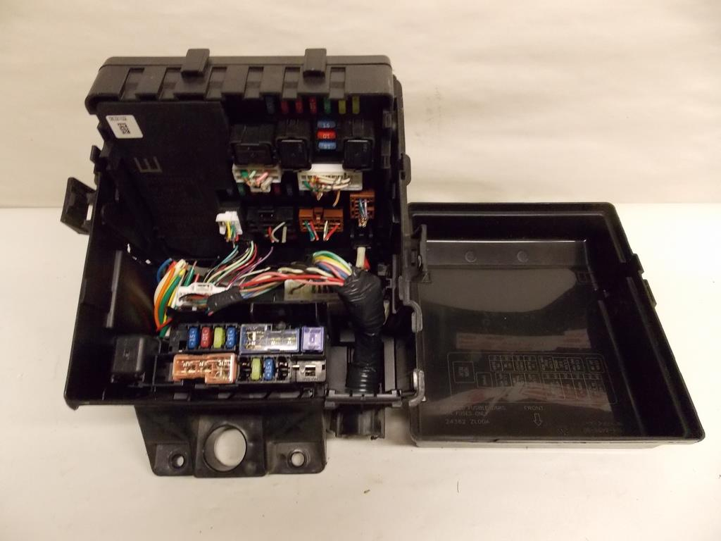 2012 nissan frontier fuse box 10-12 nissan frontier 4.0l v6 mpi under hood relay fuse ...