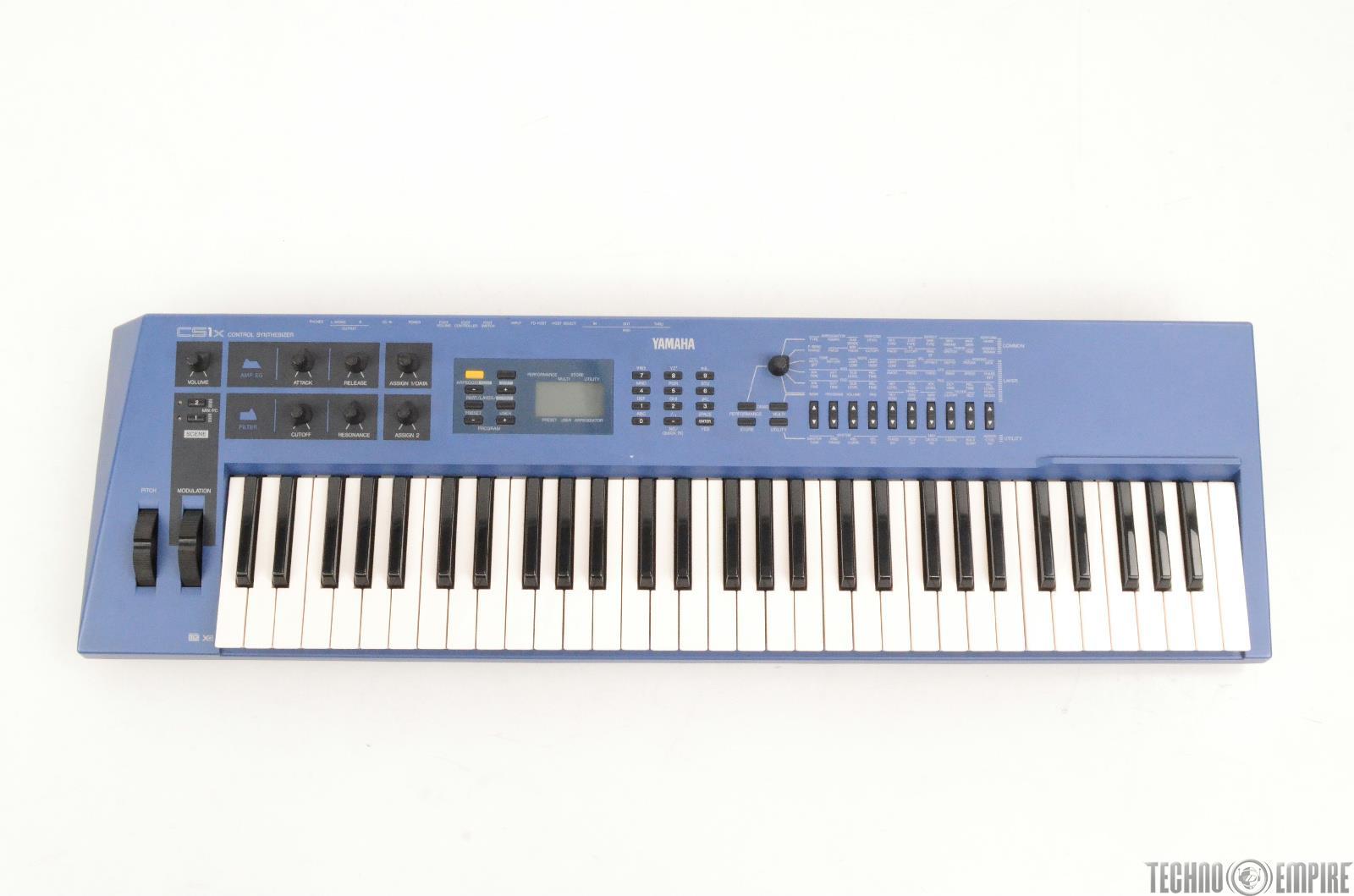 Yamaha cs1x control synthesizer 61 key keyboard needs for How to repair yamaha keyboard