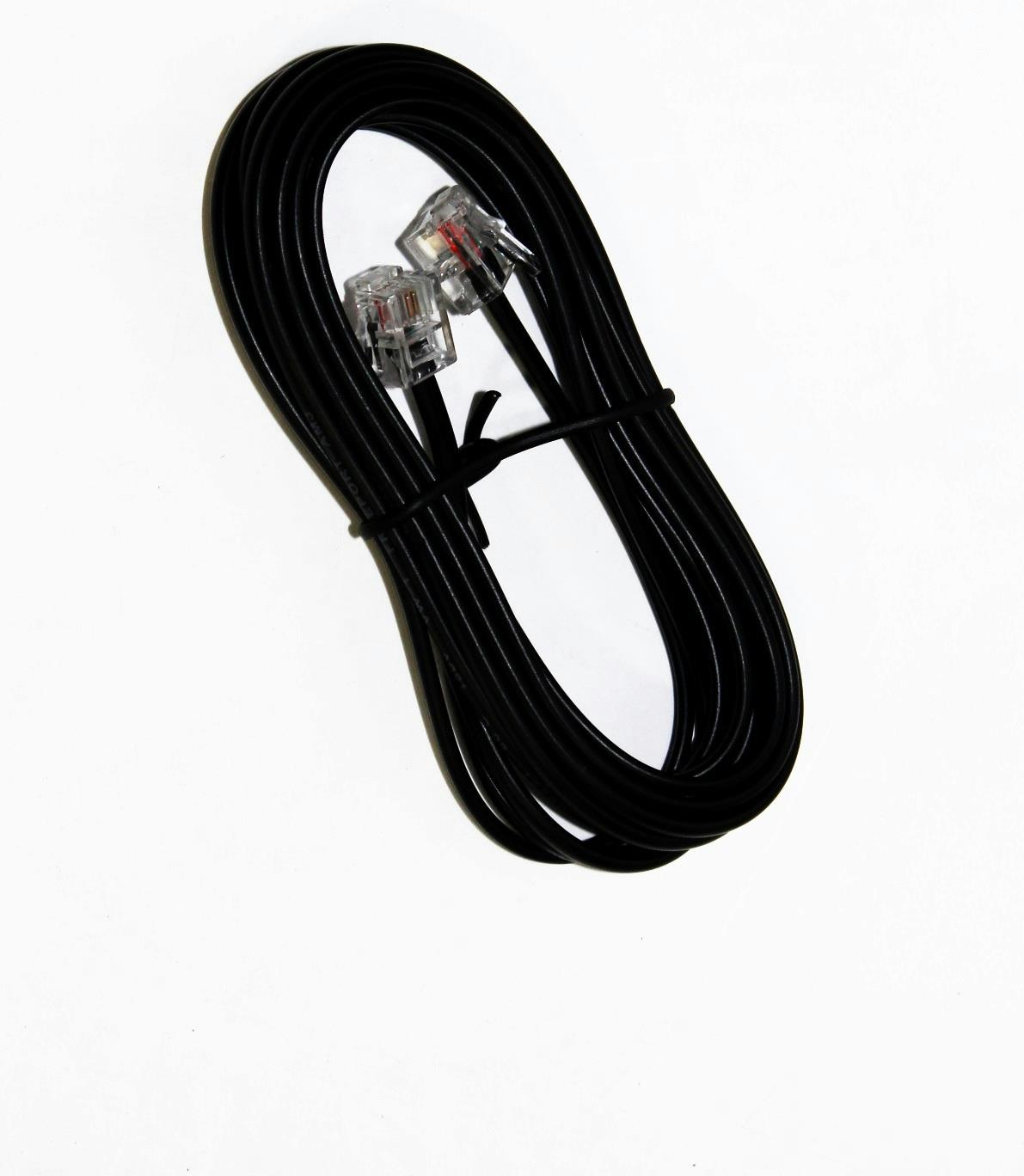 HP 8121-0811 Telephone cable (2-wire) - RJ11 (M) connectors - 3m ...