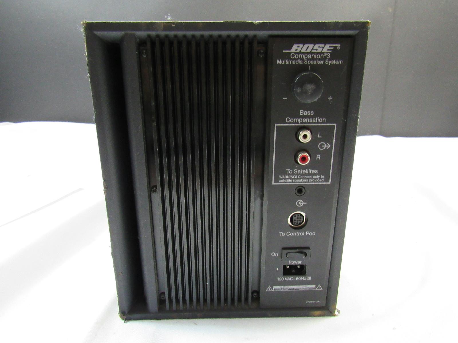 Bose 3 Multimedia Subwoofer Speaker