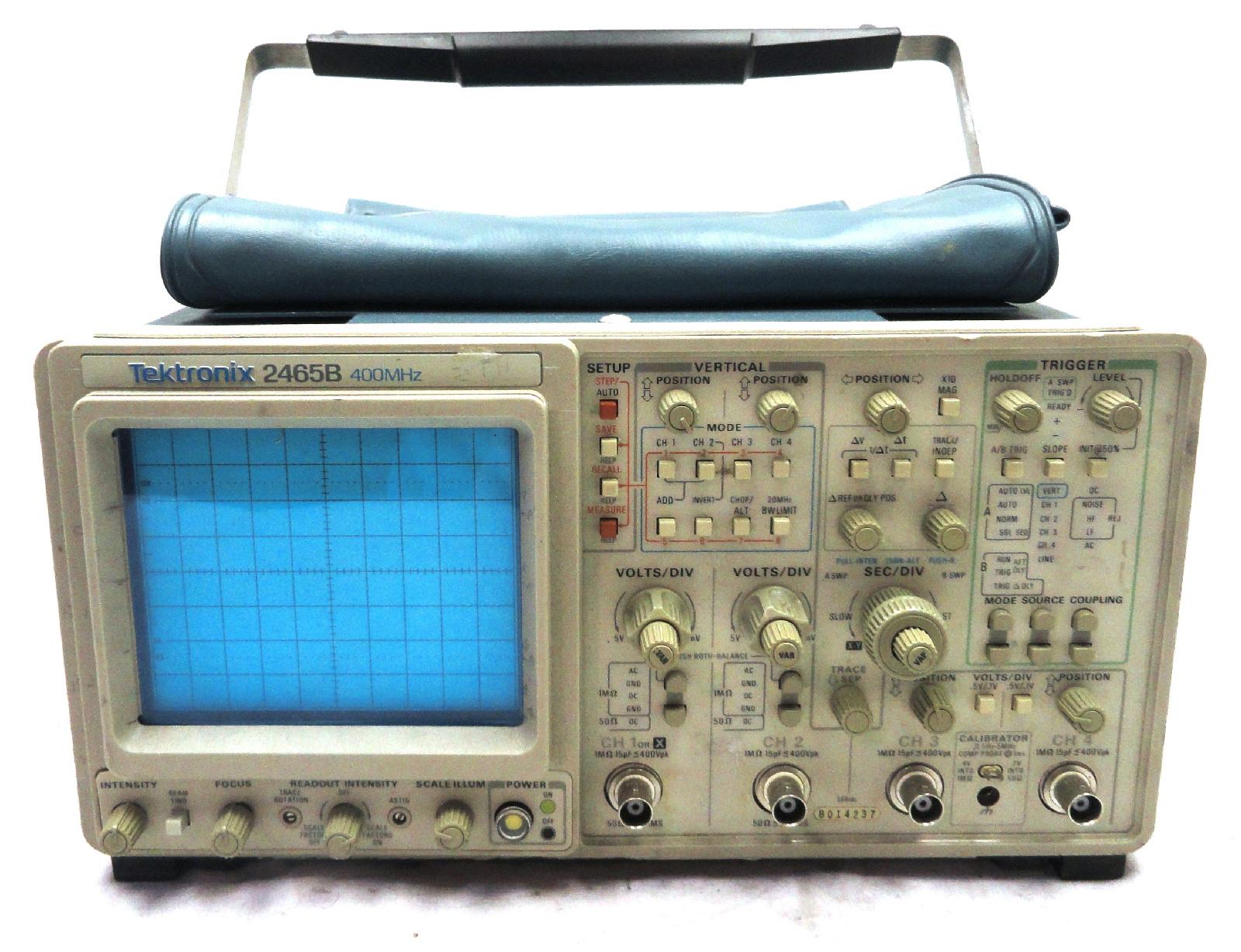 Tektronix Analog Oscilloscope : Tektronix b mhz analog oscilloscope ebay