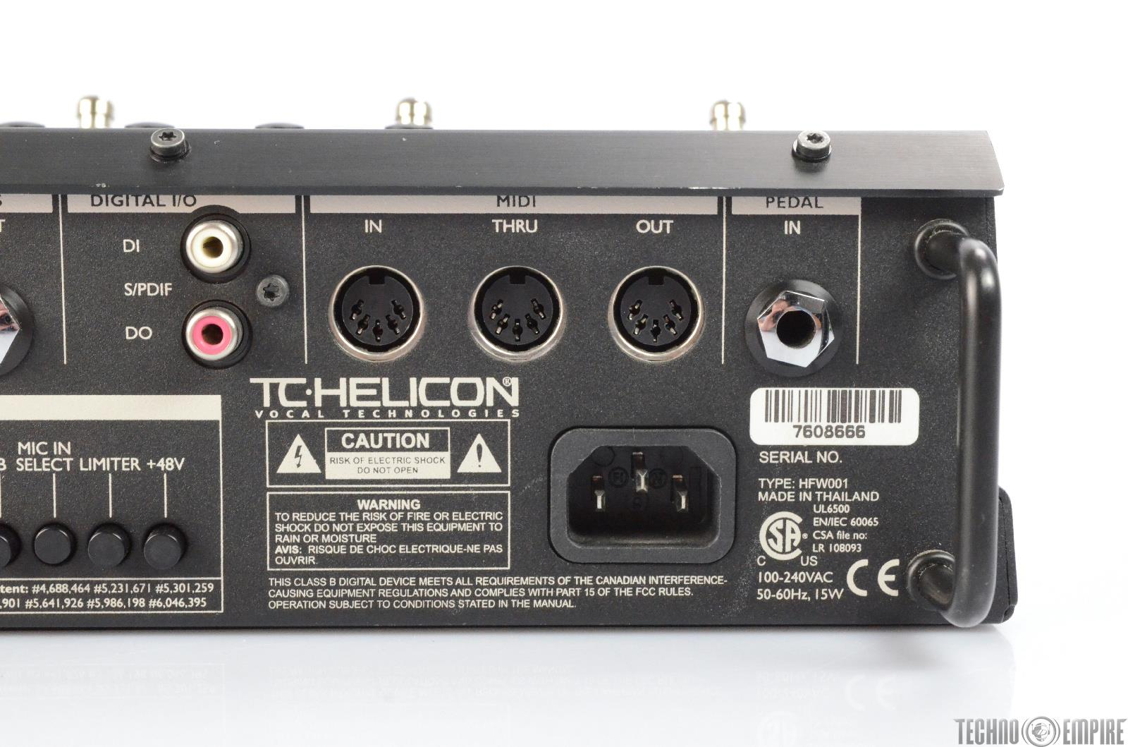 tc helicon voicelive 1 manual