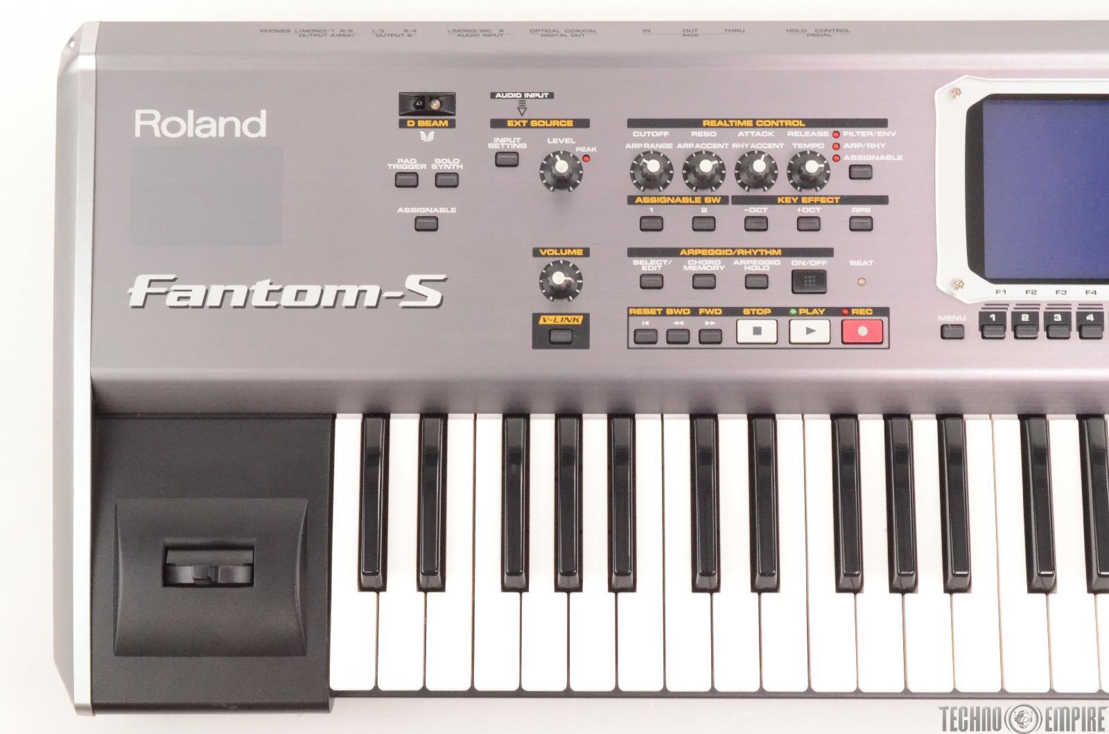 Keyboard And Workstation : roland fantom s synthesizer keyboard workstation 26131 ebay ~ Hamham.info Haus und Dekorationen