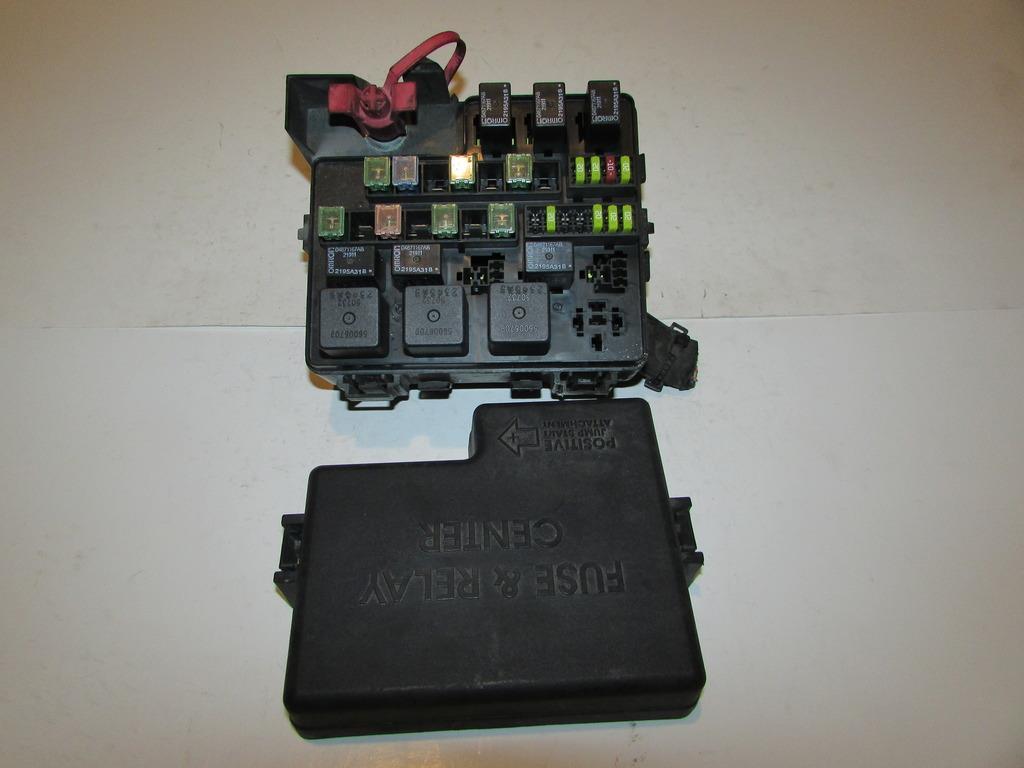 04 06 Dodge Stratus Sedan Sxt 24l I4 Instructor De Vuelo Sinttico Fuse Box 2005 Sfi Under Hood Relay Block 1617