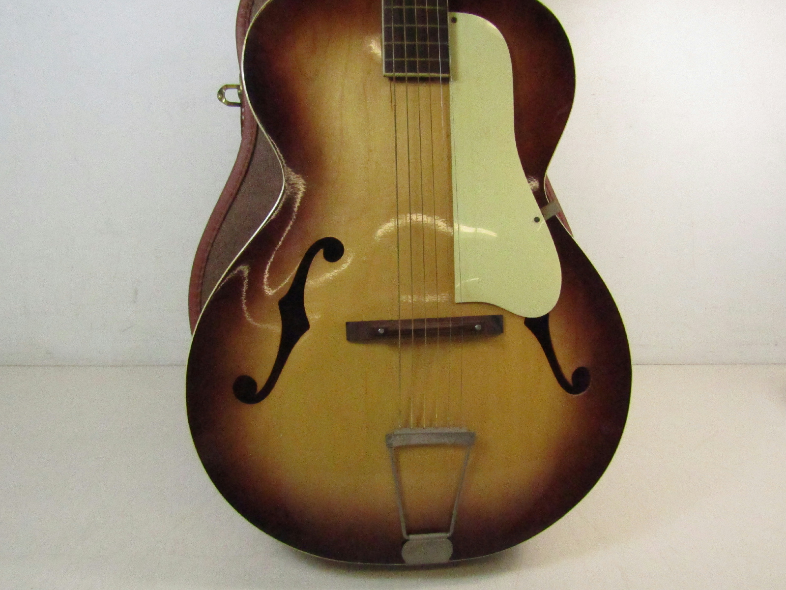 Vintage 1963 Silvertone Archtop 619 Stamped 839 Acoustic ...