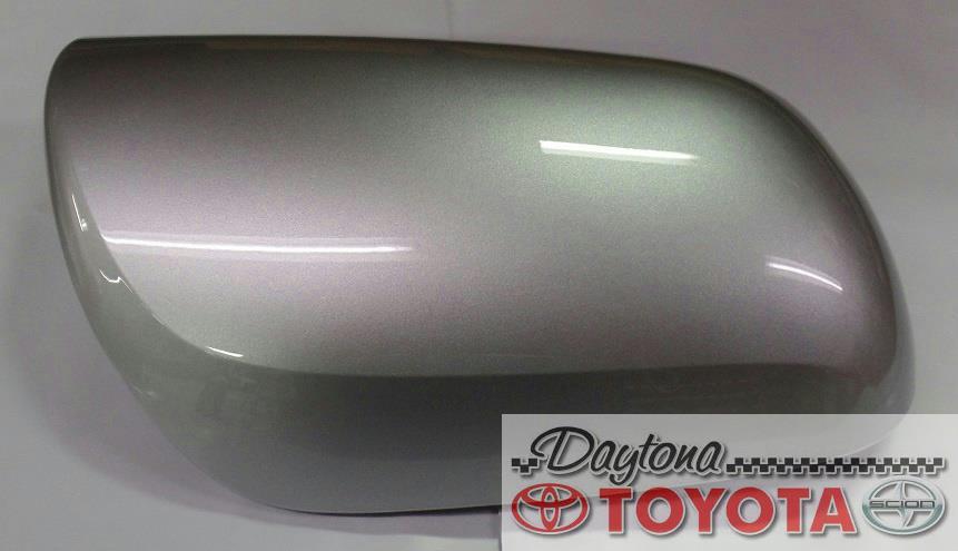 "GENUINE TOYOTA PRIUS O//S MIRROR COVER SILVER DRIVER SIDE /""SILVER/"" 87945-68010-B3"