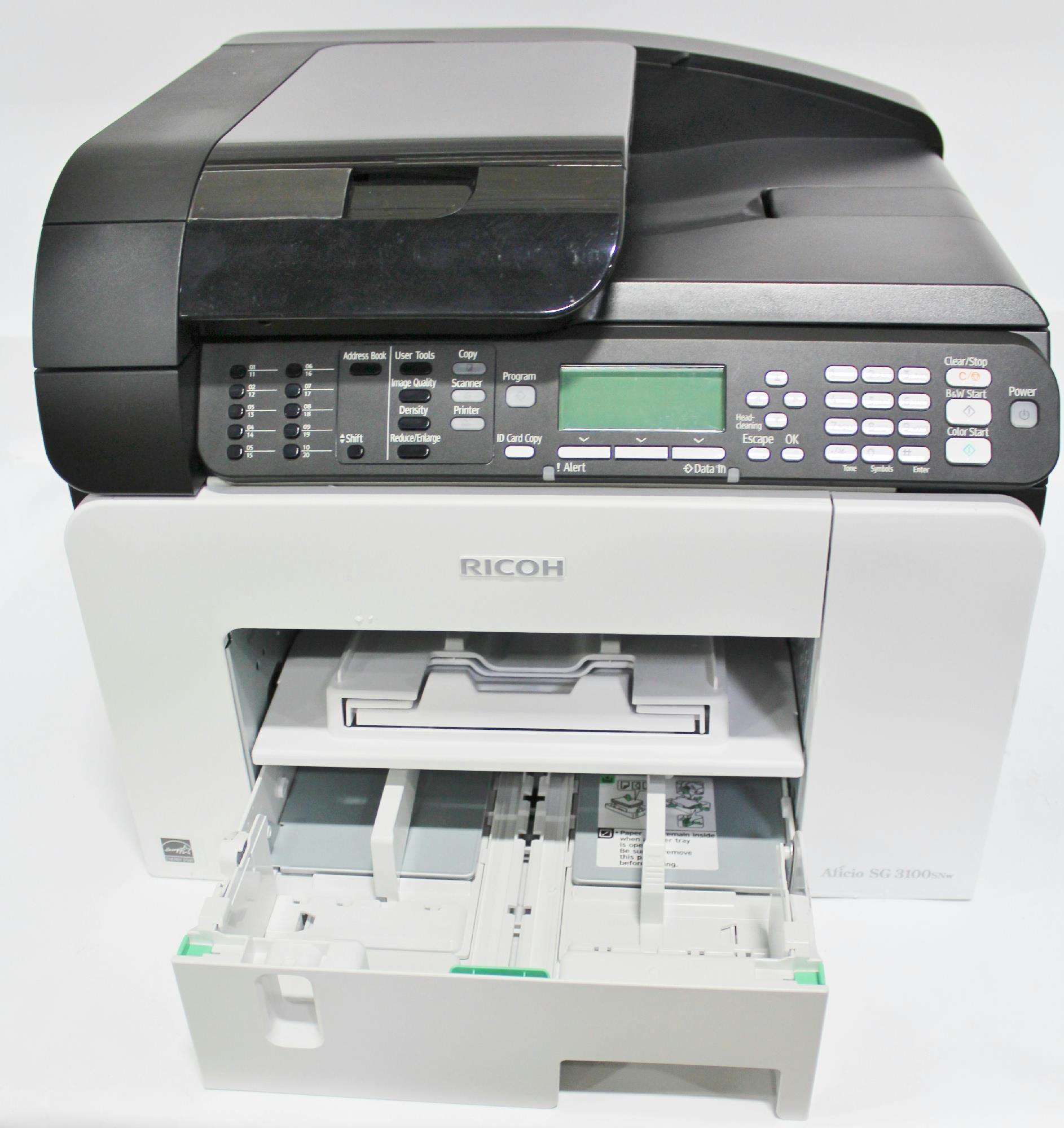 Ricoh Aficio SG 3100SNw Color Mono MF Printer 405777 For Parts
