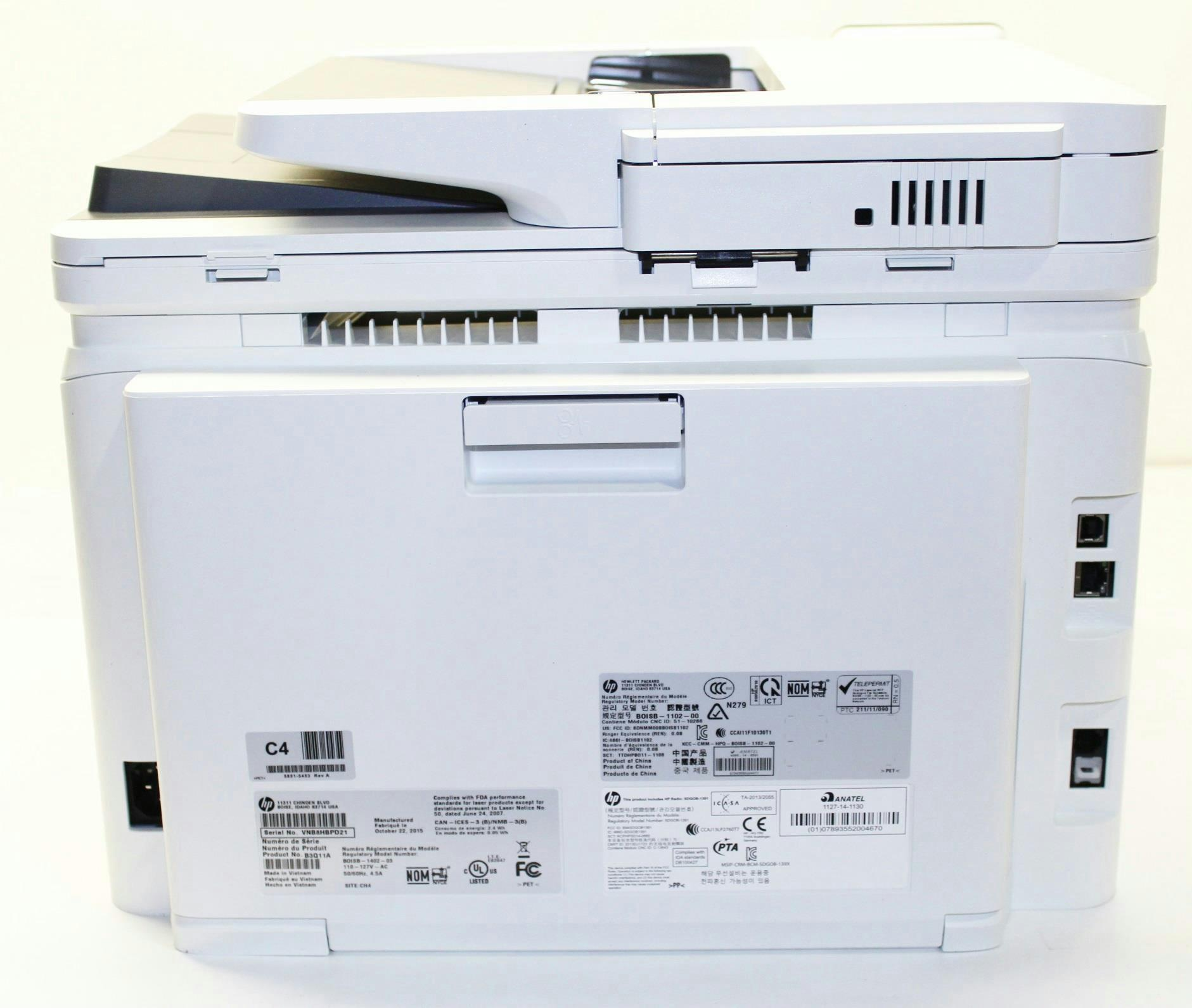 hp color laserjet pro mfp m277dw printer b3q11a bgj for parts 800142922 ebay. Black Bedroom Furniture Sets. Home Design Ideas