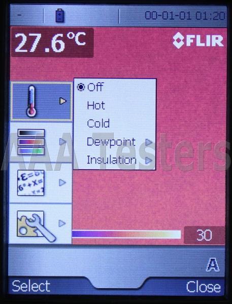 Flir bcam 9hz 120 x 120 infrared camera thermal imaging for Thermal imaging report template