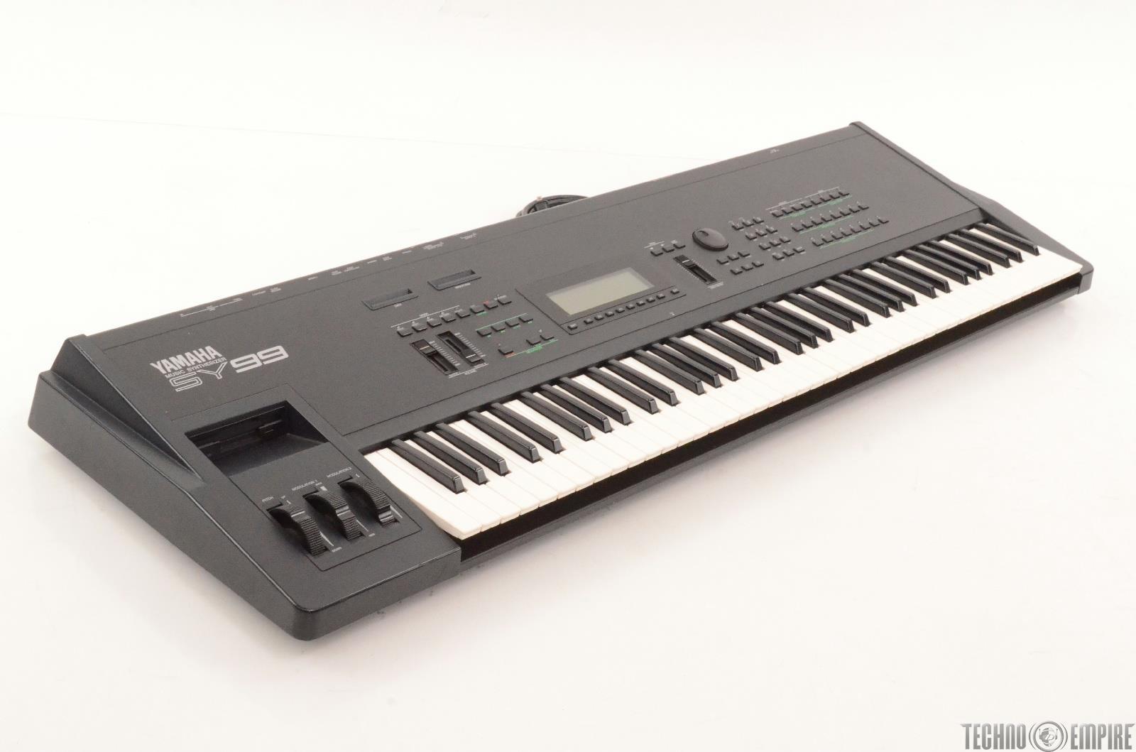 Yamaha sy99 76 key synthesizer sequencer sampler for Yamaha keyboard synthesizer
