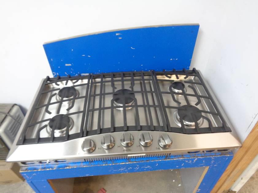 Viking Rvgc3365bsslp 36 Inch Gas Cooktop Stainless Steel