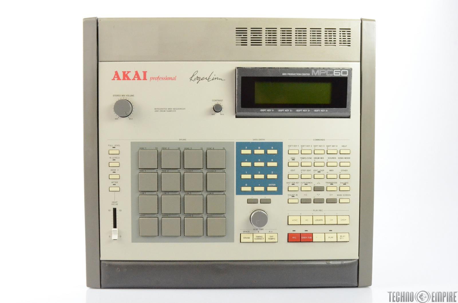 AKAI MPC60 MIDI Production Center Integrated Sequencer & Sampler #26392