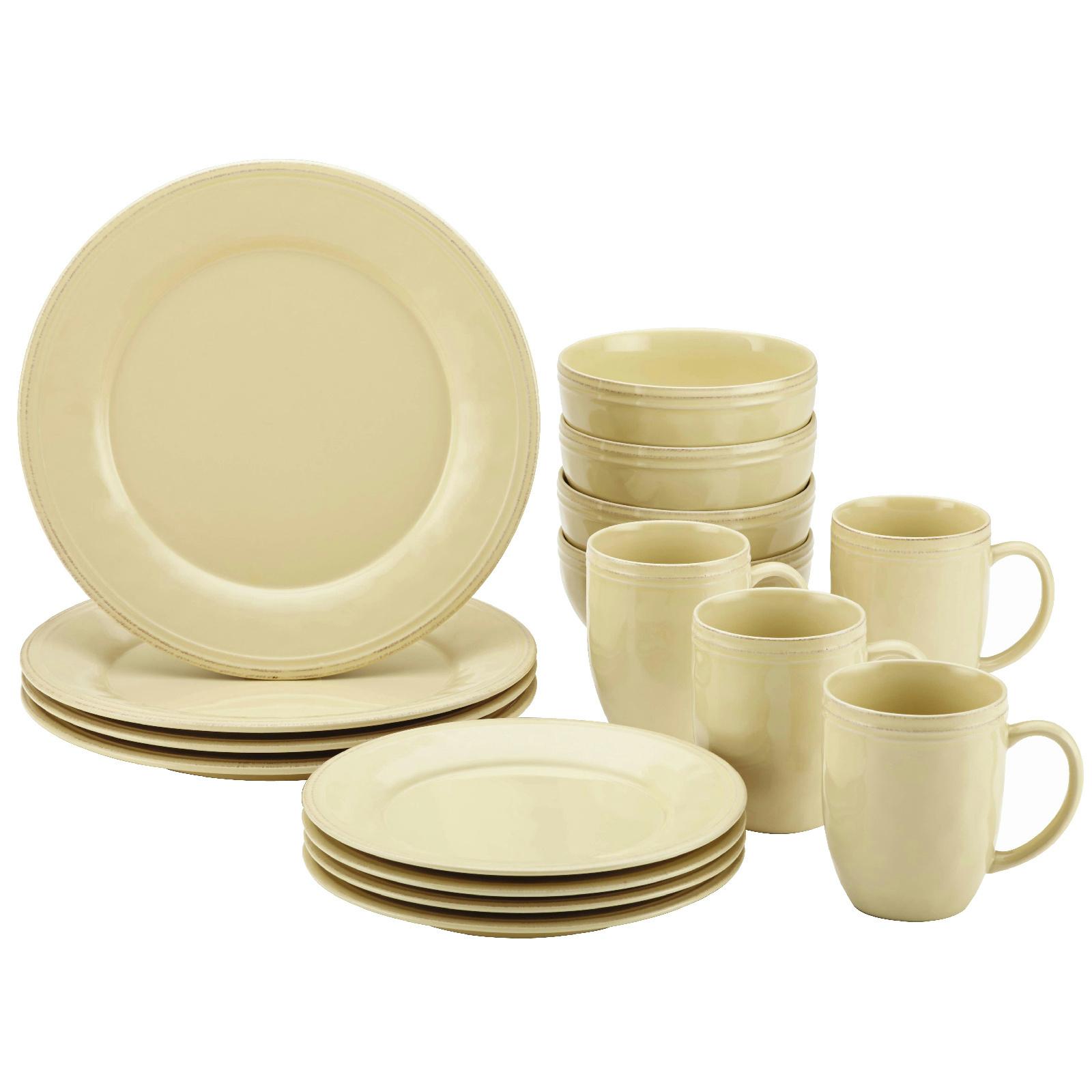 Rachael Ray Cucina 16 Piece Dinnerware Set Stoneware 8