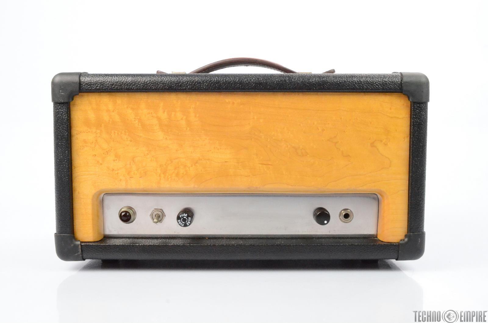 APACHE AMPS 25W Custom Clean Guitar Tube Power Amp Head Warren Cuccurullo #26469
