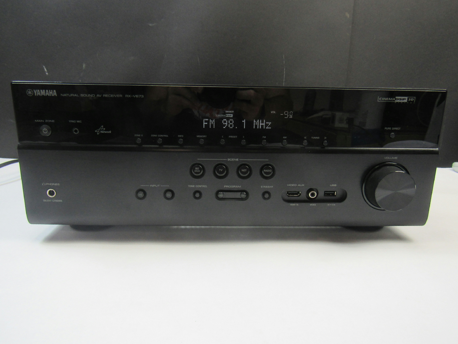 Yamaha rx v673 home theater receiver 27108941219 ebay for Yamaha receiver rx v673 manual