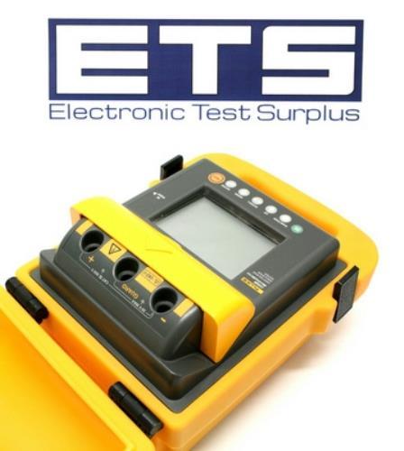 Fluke High Voltage Tester : Fluke b megohmmeter digital high voltage insulation