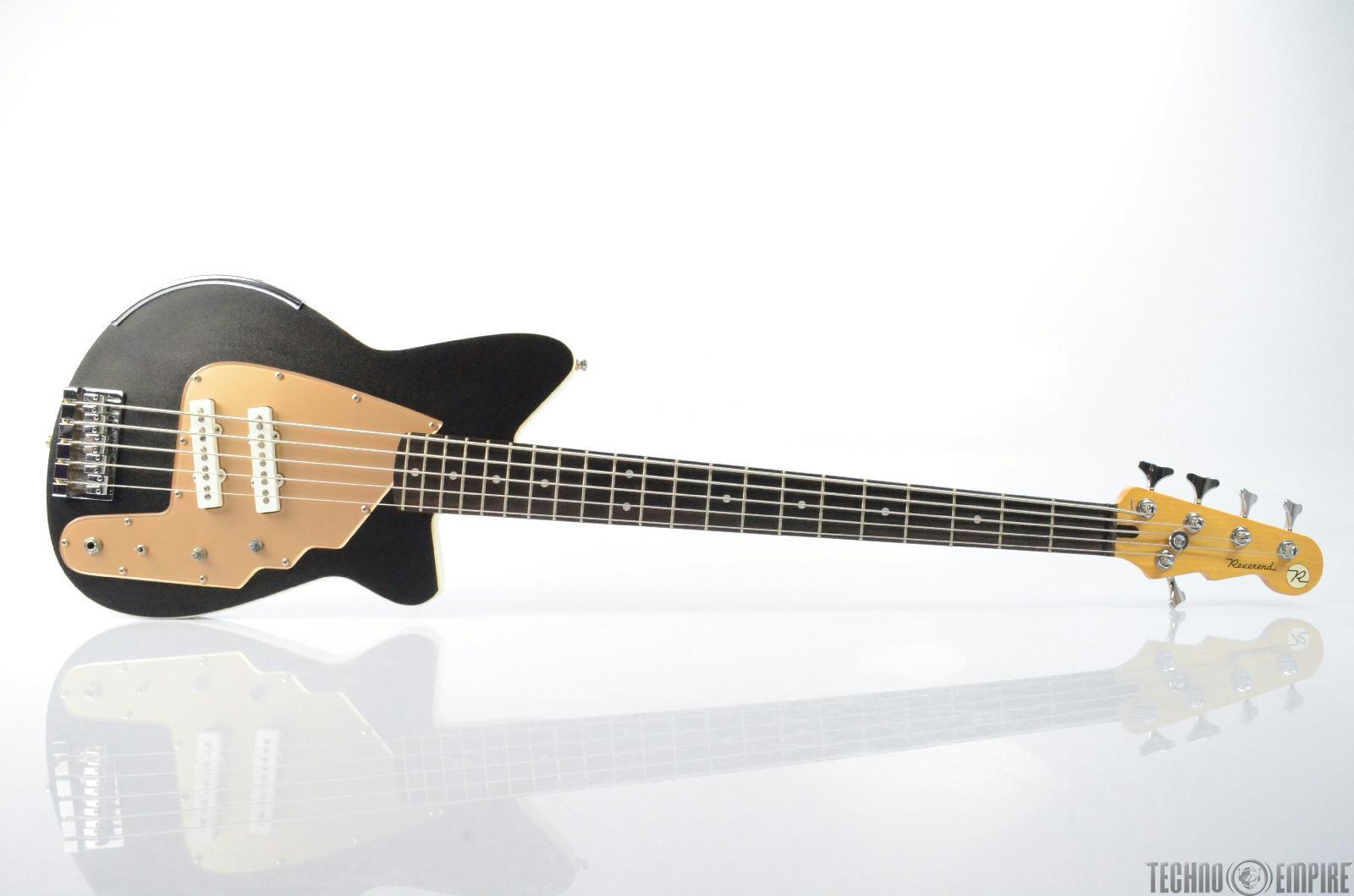 2000 REVEREND Rumblefish R5L Electric 5 String Bass Guitar w/ Hard Case #26366