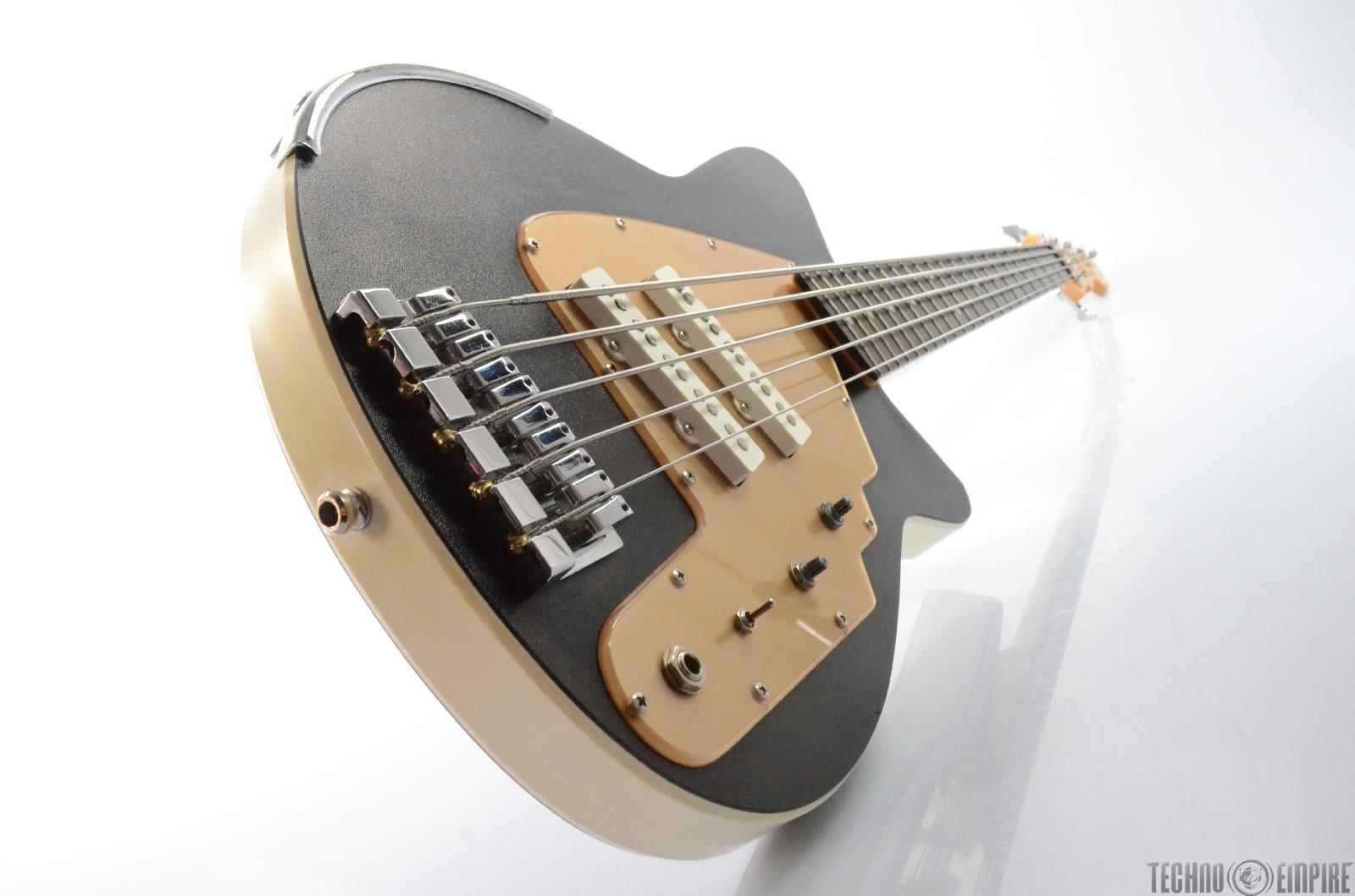 2000 reverend rumblefish rj 5 electric 5 string bass guitar w hard case 26366 ebay. Black Bedroom Furniture Sets. Home Design Ideas