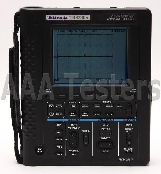 tektronix tekscope ths730a 200mhz handheld oscilloscope ths730 ebay rh ebay com QWERTY Phone