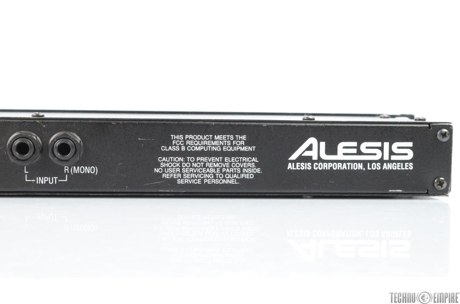 alesis quadraverb digital effects processor reverb unit 26156 ebay. Black Bedroom Furniture Sets. Home Design Ideas