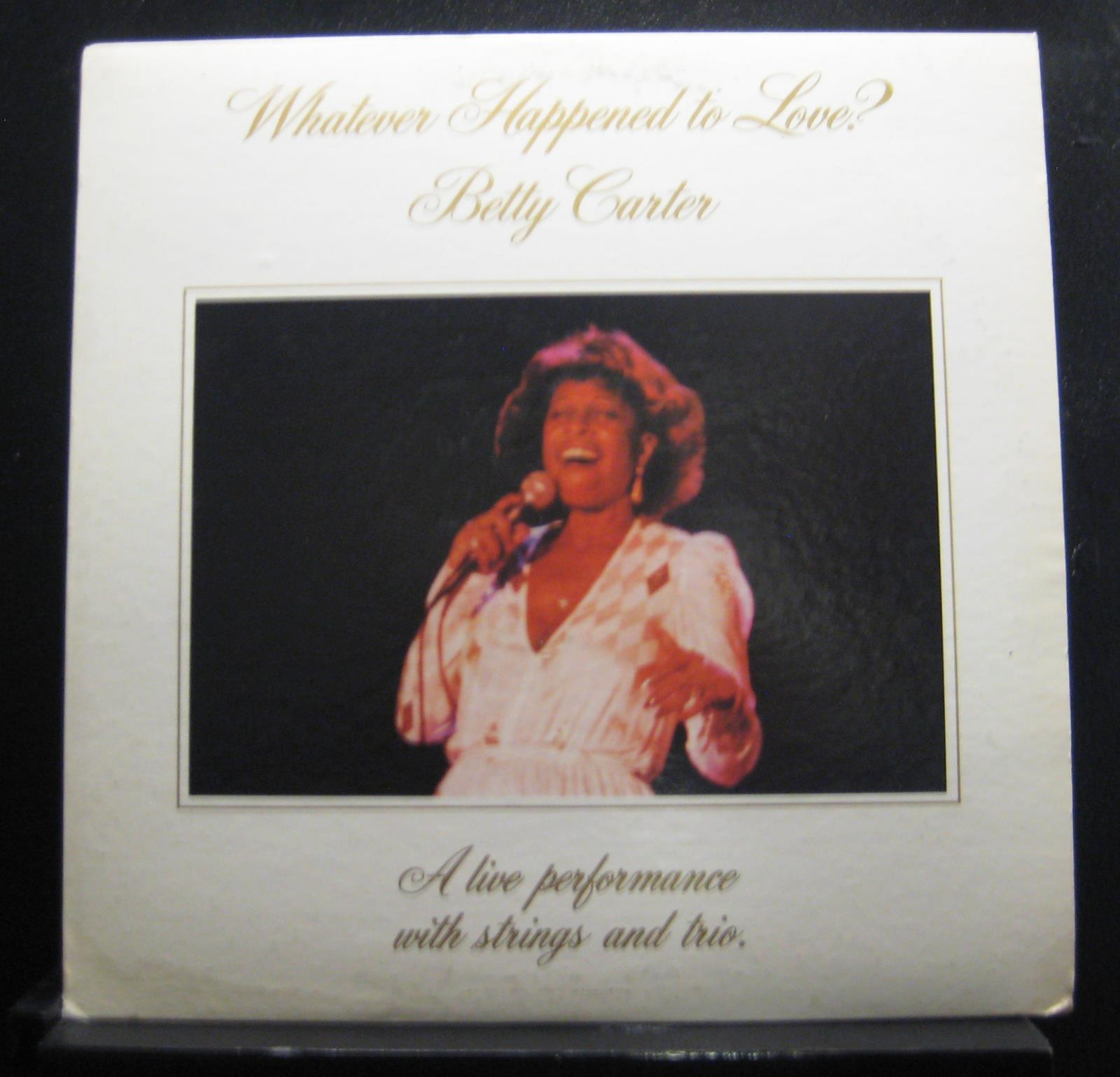 Betty Carter - Whatever Happened To Love