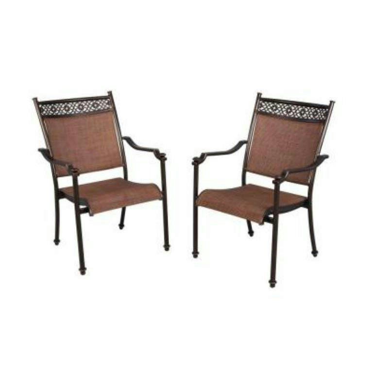 Hampton Bay Swivel Patio Chairs PALLET CUSTOMERS ARE RESPONSIBLE FOR SETTING UP & PAYING FOR SHIPPING ...