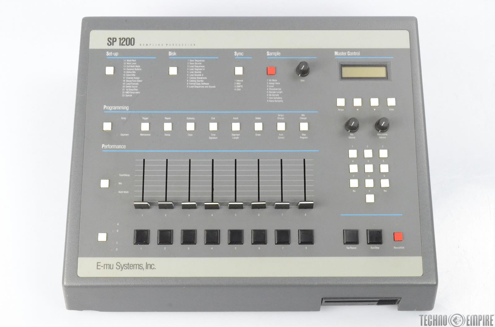E-MU SP-1200 7030 Rev B Sampling Percussion Drum Machine/ Sampler #26231
