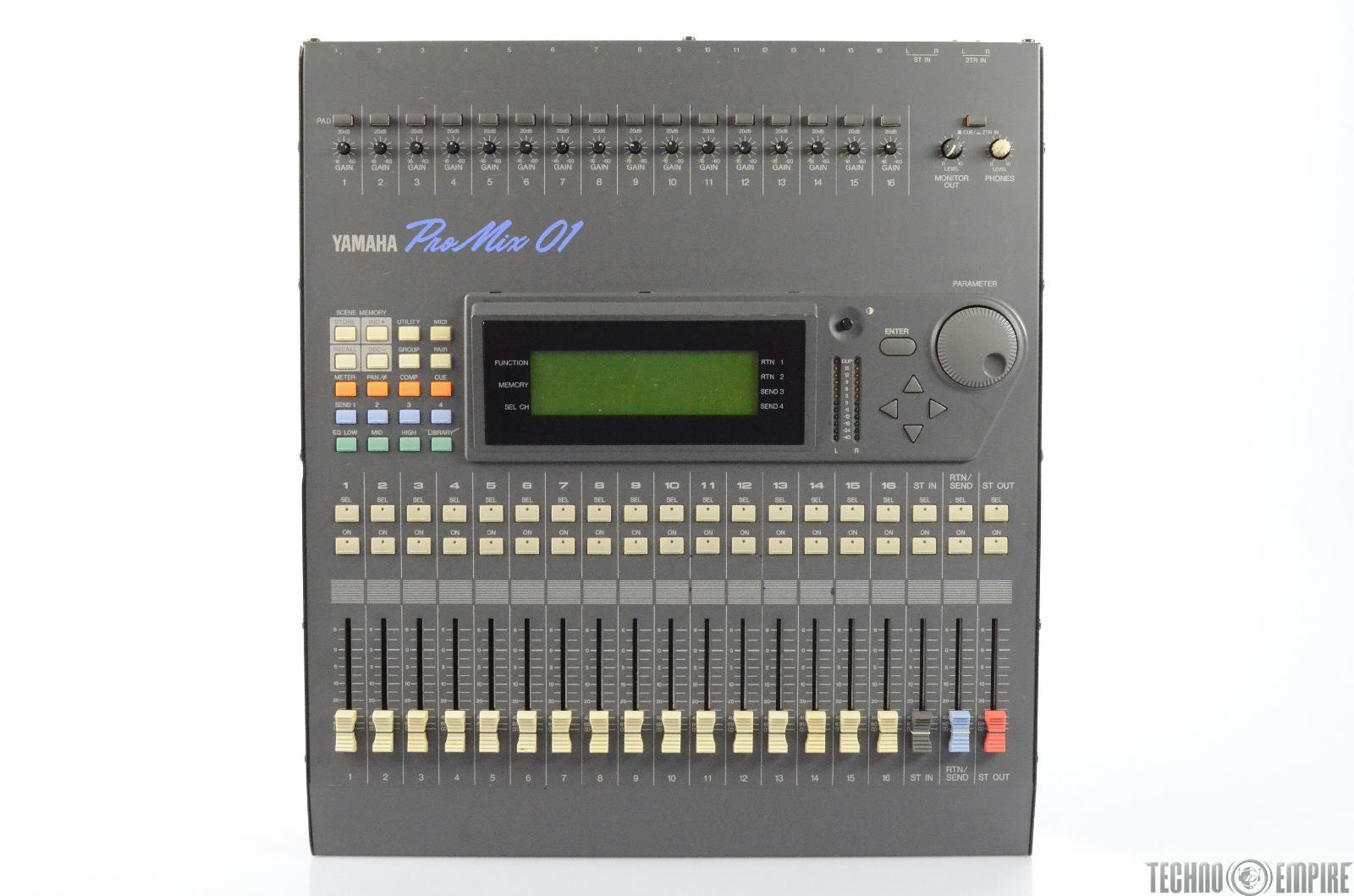 Yamaha Promix Live Sound