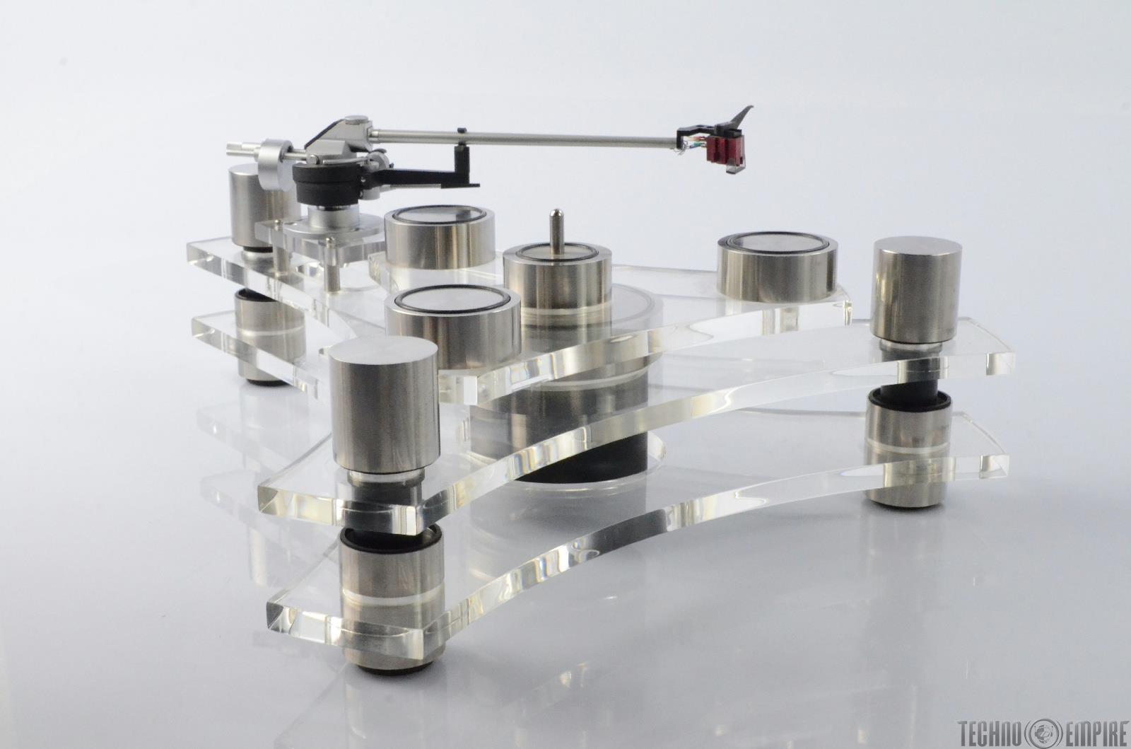 GALE GT2101 HiFi Acrylic Optical Servo Turntable w/ Signet XK50 Tone Arm #26548