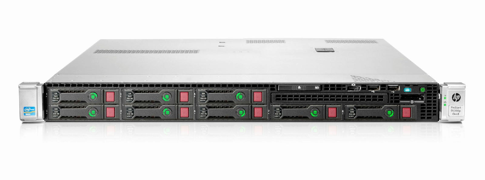 hp proliant dl360p gen8 1u 2xquad core e5 2643 xeon 32gb ram server 64 bit instock901. Black Bedroom Furniture Sets. Home Design Ideas