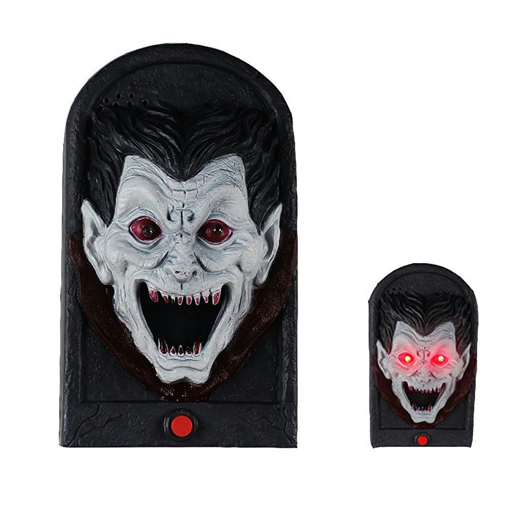 Vampire Doorbell Spooky Jime Novelty Gag Door Decoration