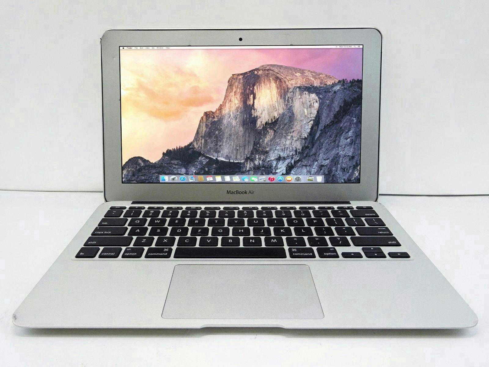 Ноутбук apple macbook air 11 a1370, intel core i5 2x1,6ghz, 2gb ddr3, 116 1366x768, 64gb ssd, wifi 80211n