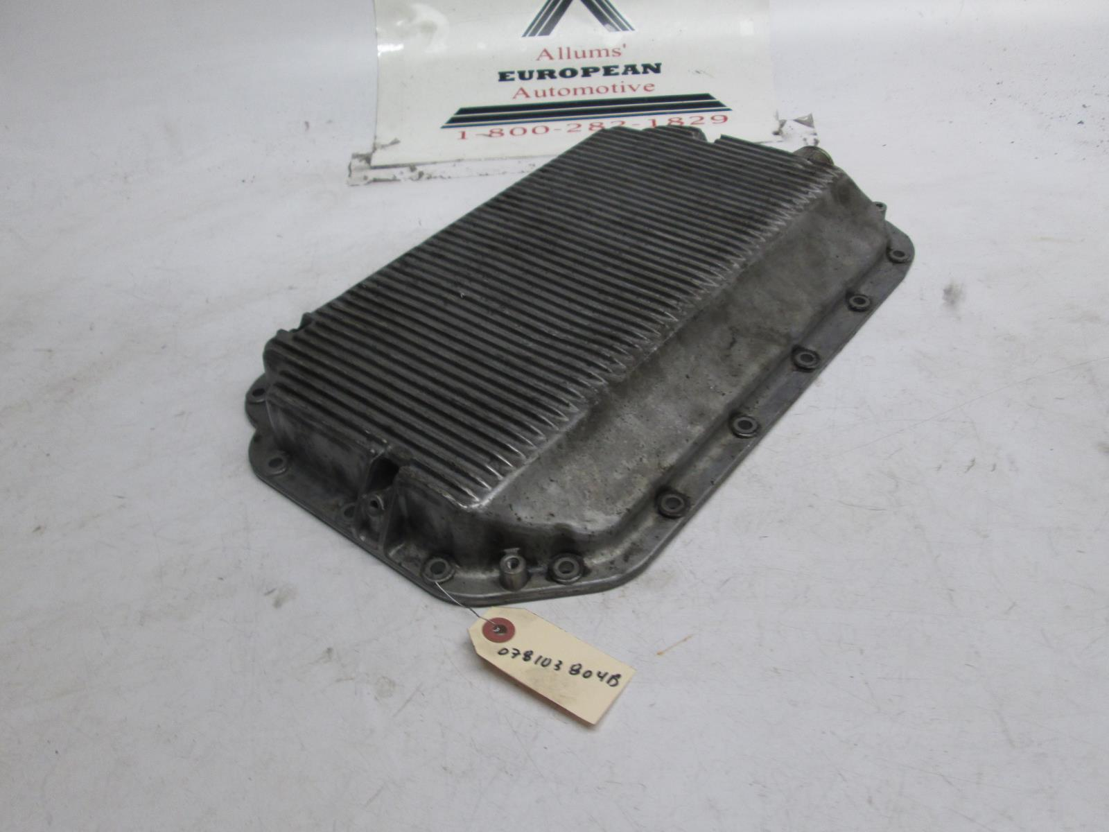 Audi 90 100 a6 engine oil pan 078103604b allums import for Audi a6 motor oil