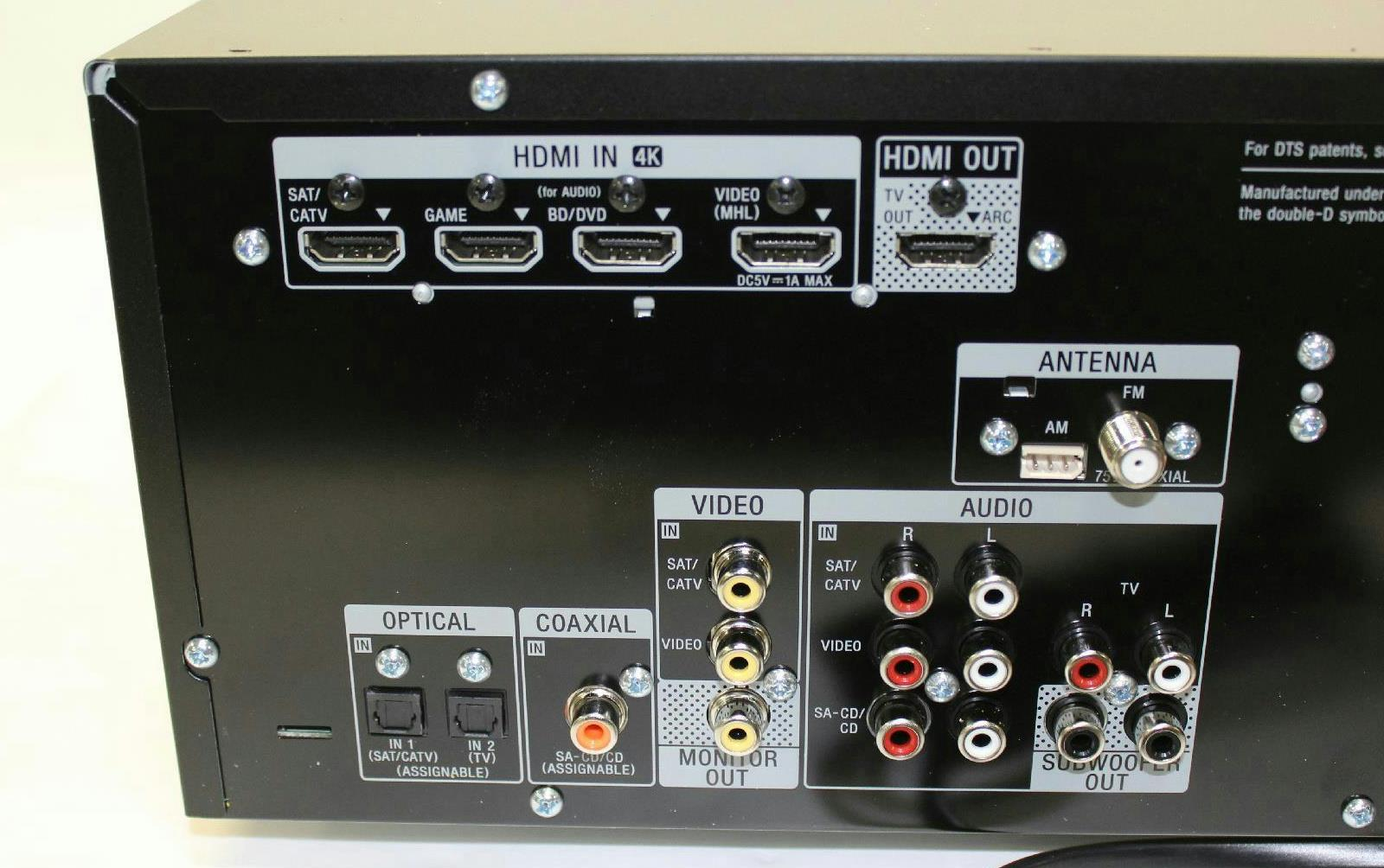Sony STR-DH550 5.2-Channel AV Receiver *For Parts* - 800144463