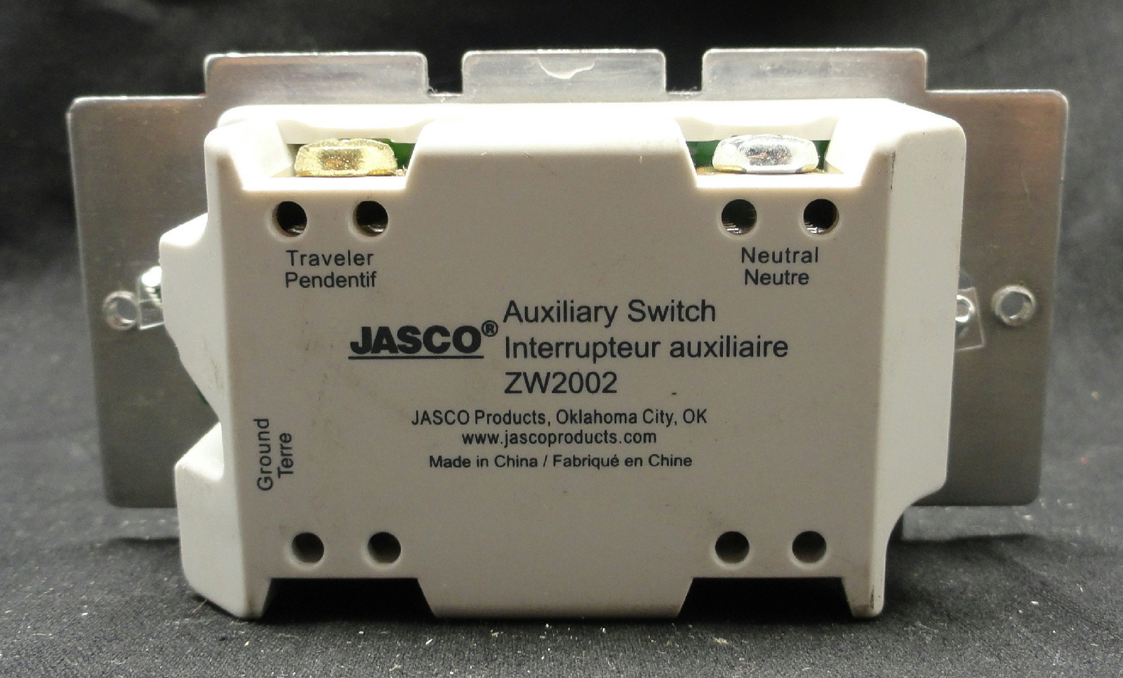 Zw2002 Jasco Relay Switch 45709 7x Ge Zwave Auxiliary Provides