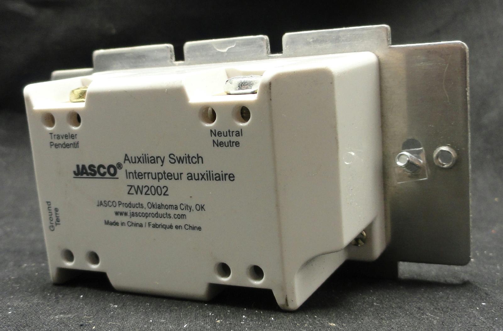 Zw2002 Jasco Relay Switch 45709 7x Ge Zwave Auxiliary Provides