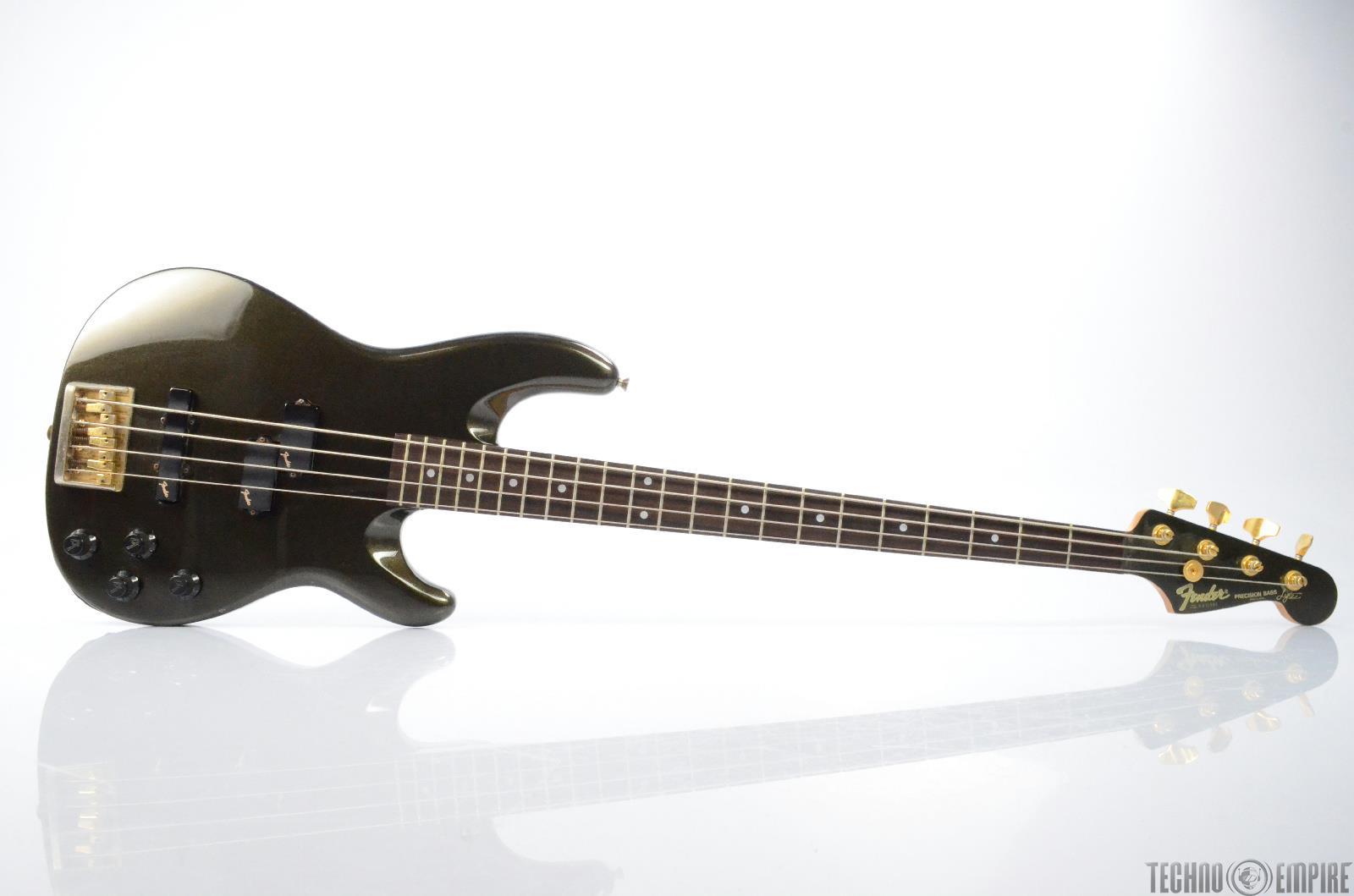 fender precision bass lyte electric guitar w hard case made in japan 26365 ebay. Black Bedroom Furniture Sets. Home Design Ideas