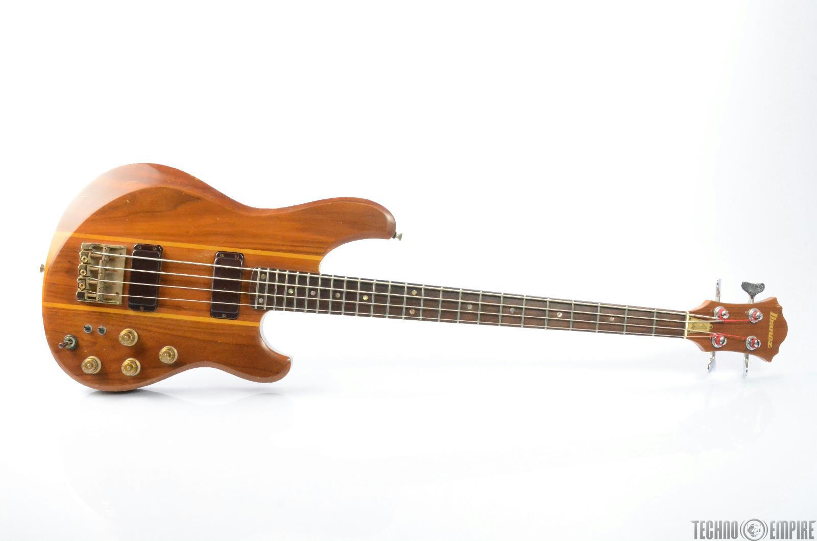 1980 IBANEZ ST-824 Studio Electric Bass Guitar w/ original Case #26334
