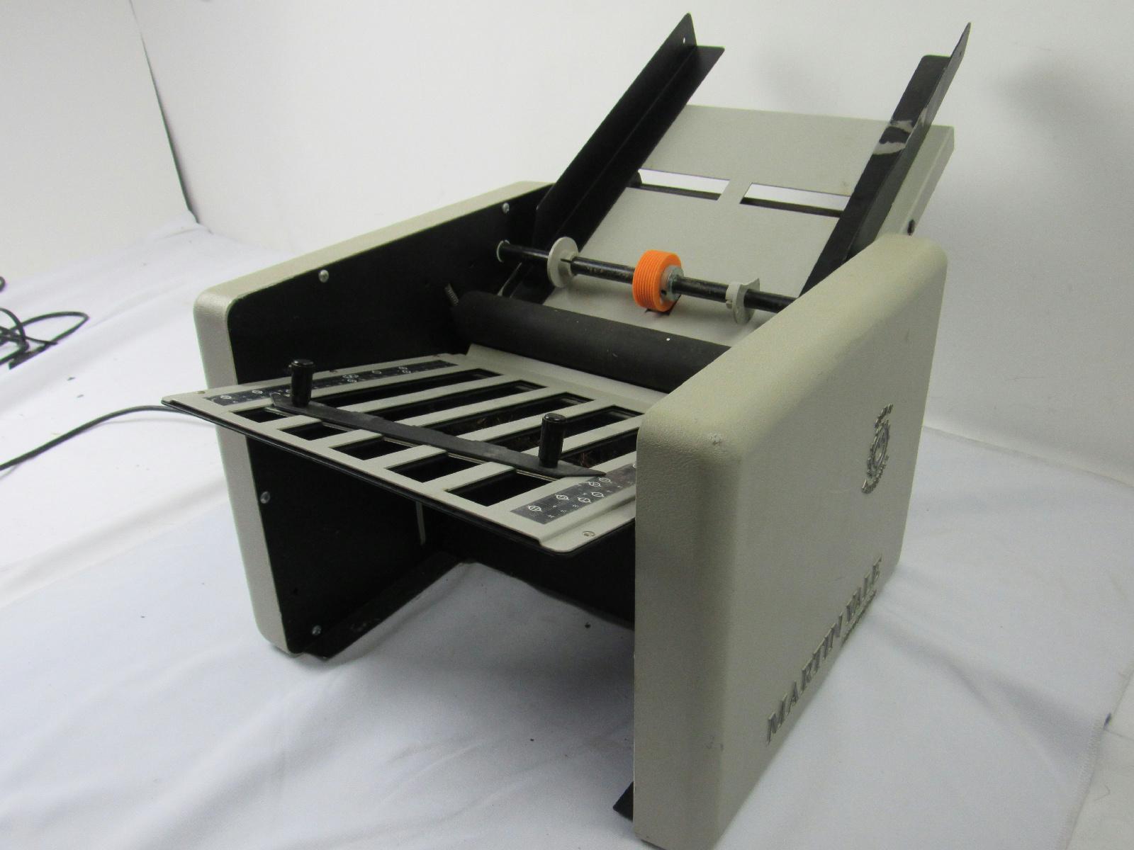 letter folder machine
