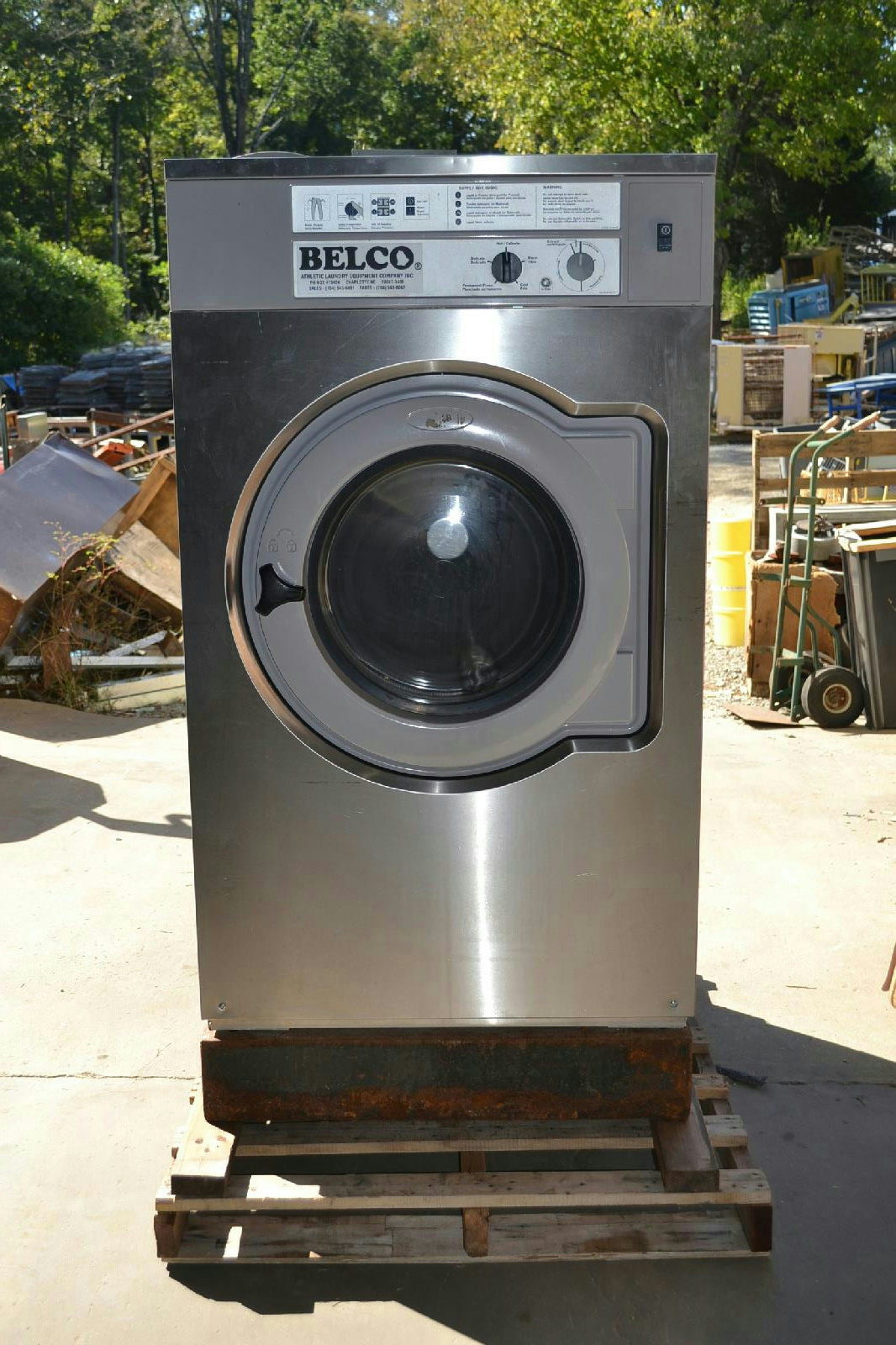Electrolux Washer Extractor ~ Electrolux washer extractor w n lbs capacity