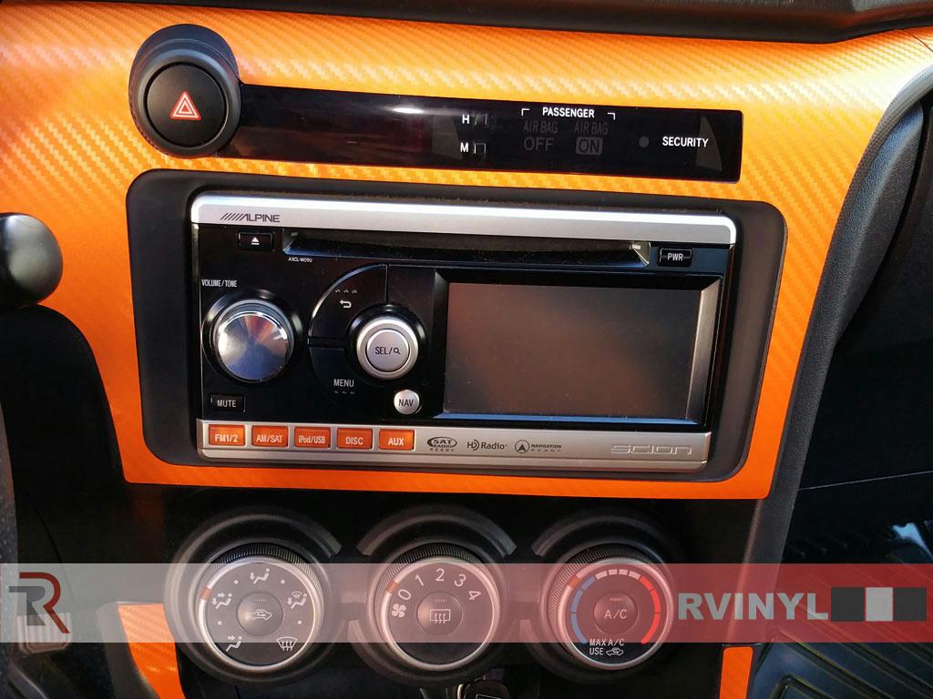 rdash dash kit for scion tc 2011 2016 auto interior decal trim ebay. Black Bedroom Furniture Sets. Home Design Ideas