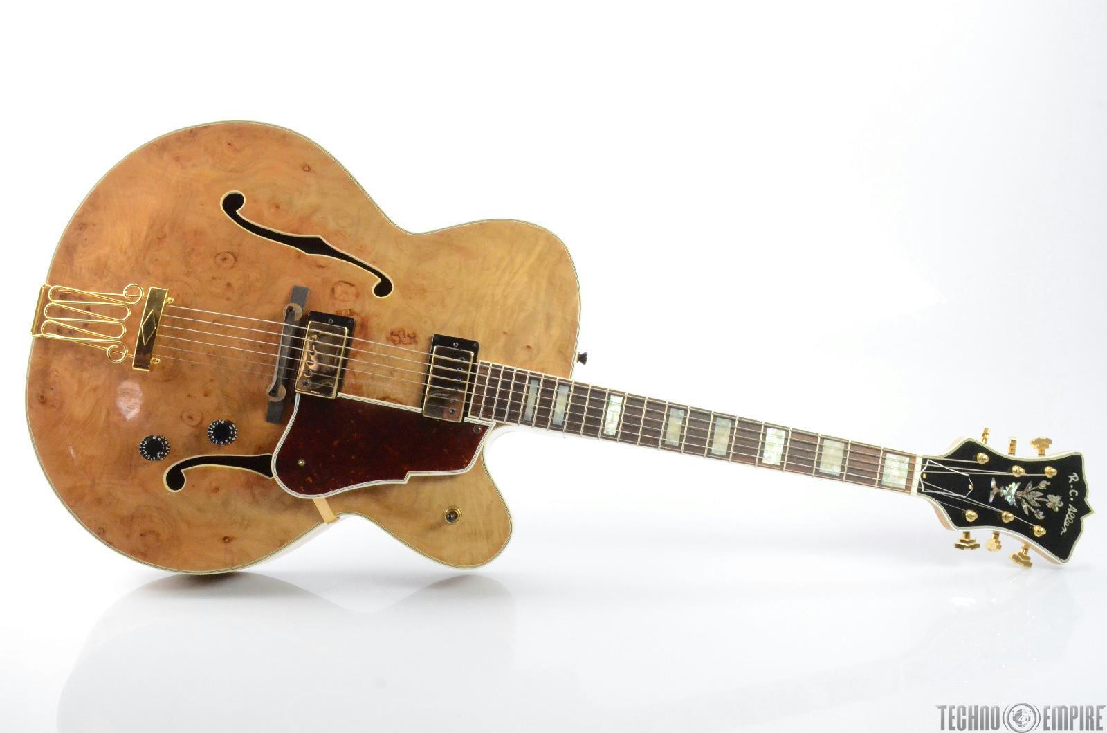 RC ALLEN Aristocrat Hollowbody Electric Guitar w/ Hard Case #26636