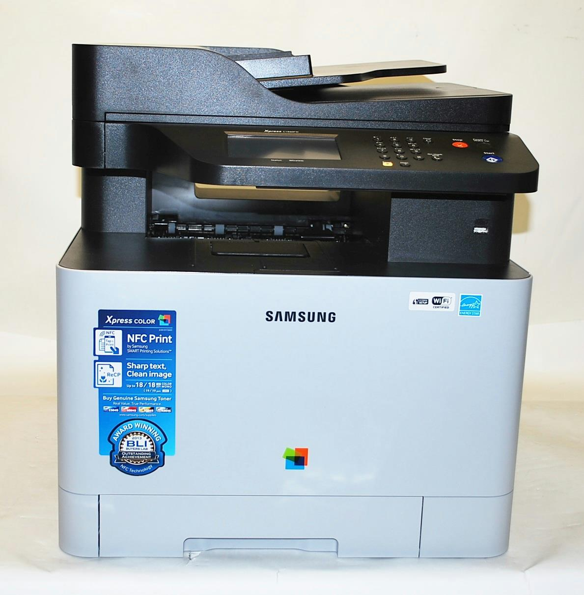 multifunction color laser printer cost per page - samsung xpress c1860fw color all in one laser printer sl