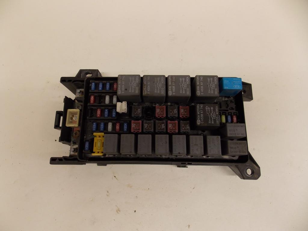 10-13 Hyundai Tucson 2.4L Under hood Relay Fuse Box Block Warranty #1681
