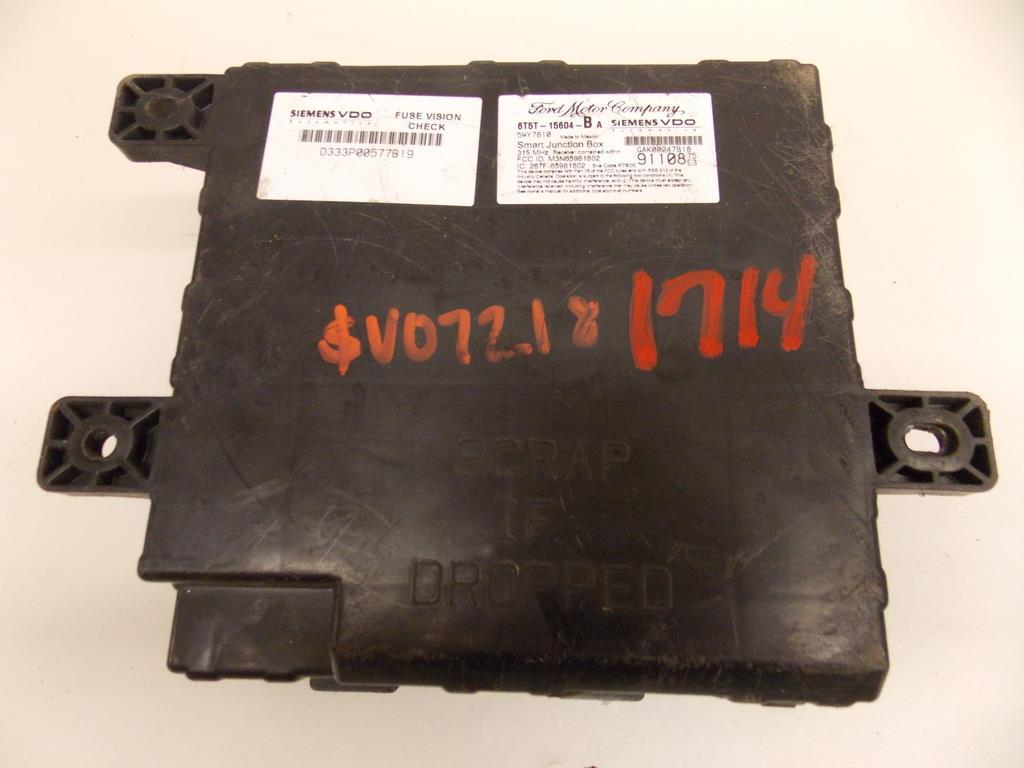 05 07 Mercury Montego Taurus 30l Bajo Cap Rel Caja De Fusibles 2005 Fuse Box Under Hood Relay Block Warranty 1714